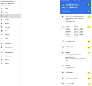 Optimize Google My Business for dental practice