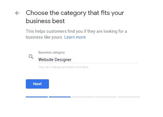 Google My Business Step 3