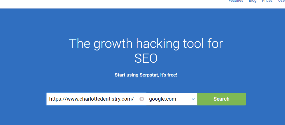 Serp Stat search